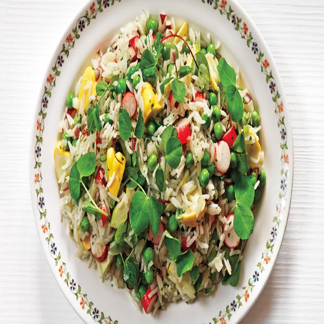 Riz Basmati légumes