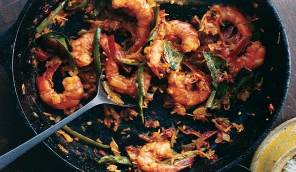 Nos plats aux crevettes